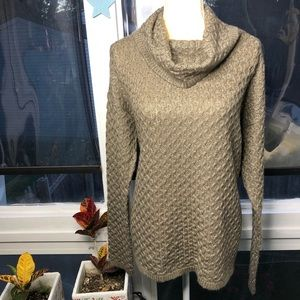 Sonoma NWT squiggle knit cowl neck sweater sz XL